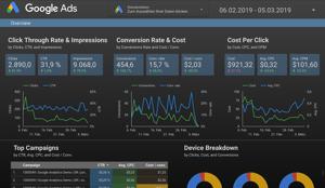 Google Data Studio Beispiel
