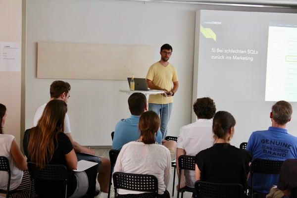 made2GROW Sebastian Schäfer HubSpot User Group Cologne