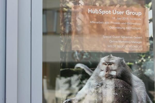 HubSpot User Group Cologne Prozess Online Shop